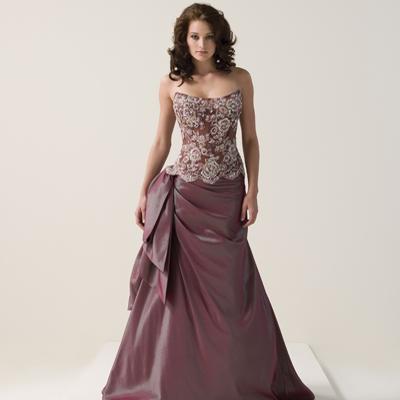 Farbiges Hochzeitskleid - Hochzeit-Trauung-Party