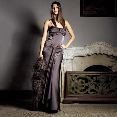 Elegante exklusive abendkleider
