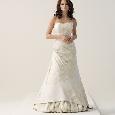Lange volle bruidsjurk