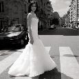 Chique moderne bruidsjurk
