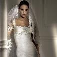 Klassieke bruidsjurk met kant