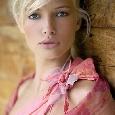 Roze jurk met stola