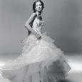 Wijd uitlopende bruidsjurk voor glamourgirls