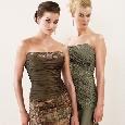 Mooie strapless jurken voor bruidsmeisjes
