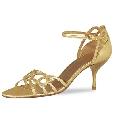 Sexy goudkleurig sandaaltje